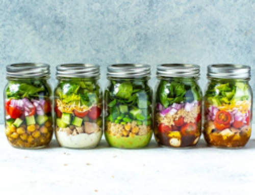 Mix and Match Mason Jar Salad Recipes